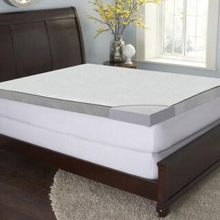 Sinomax Sleep 3-inch Gel Memory Foam Mattress Topper