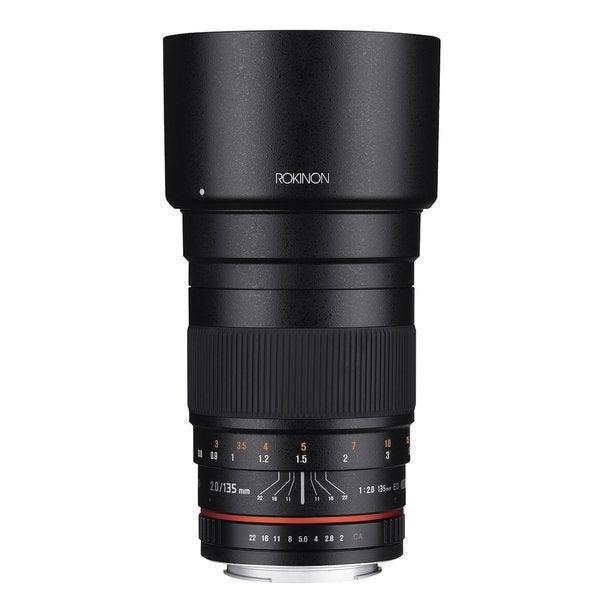 Rokinon 135mm F2.0 ED UMC Telephoto Lens for Nikon Digital SLR Cameras with Built-in AE Chip