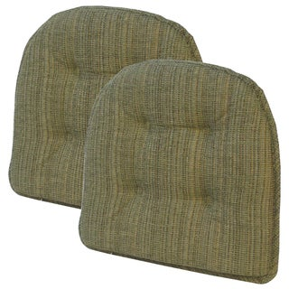 Accord Forest Tufted Chair Pad (Set of 2)