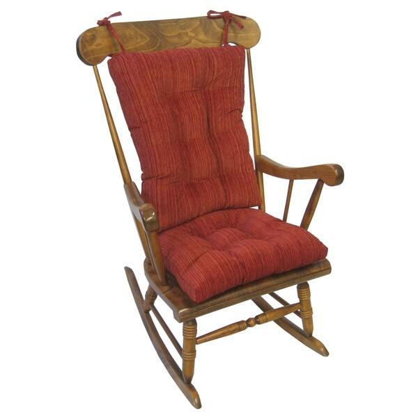 Polar Garnet Red XL Universal Rocking Chair Set 15544049