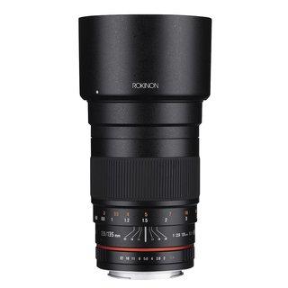 Rokinon 135mm F2.0 ED UMC Telephoto Lens for Sony Alpha A Mount Digital SLR Cameras