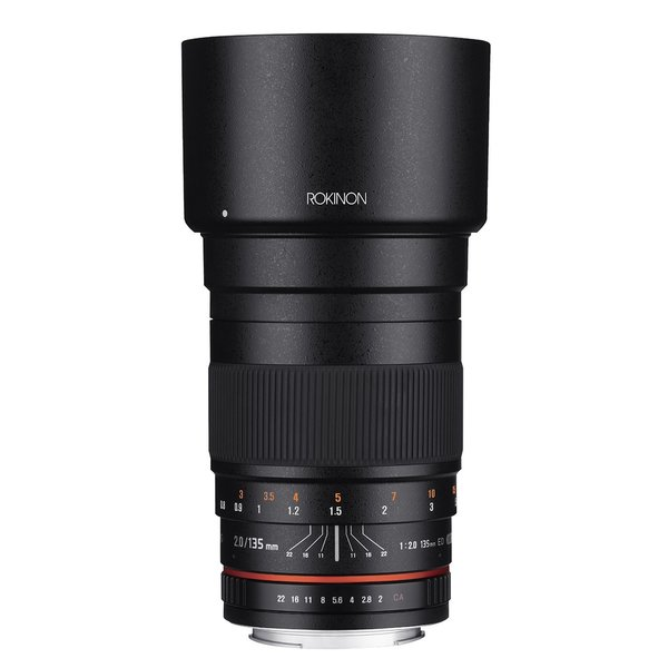 Rokinon 135mm F2.0 ED UMC Telephoto Lens for Sony Alpha A Mount Digital SLR Cameras