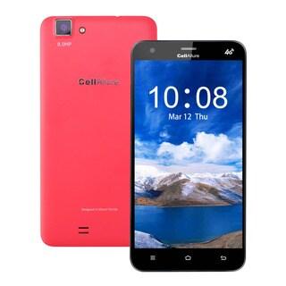 CellAllure Cool 5.5-inch HD Screen Quad-CORE Dual-SIM GSM 4G Unlocked Pink Smartphone