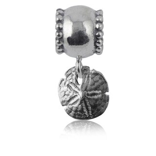 Sterling Silver Sand Dollar Charm Bead