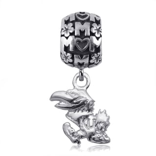 Kansas Sterling Silver Mom Charm Bead