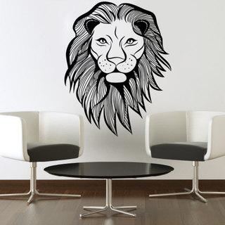 Lion Sticker Wall Art