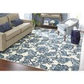 Mohawk Home Loop Print Base Arranged Melody Rug (8'x10')