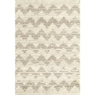 Karastan Prima Shag Mimoas Stripe Rug (7'11x10'10)