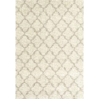 Karastan Prima Shag Temara Lattice Rug (5'3 x 7'7)