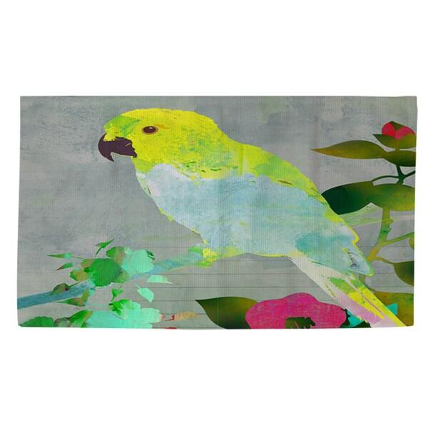Thumbprintz Collage Parrot Rug