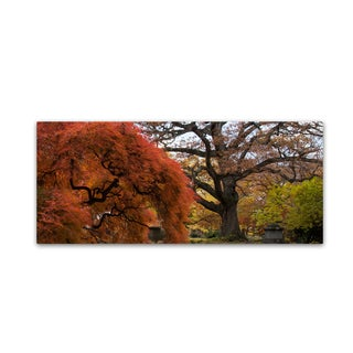 Kurt Shaffer 'Beautiful Slice of Autumn' Canvas Art