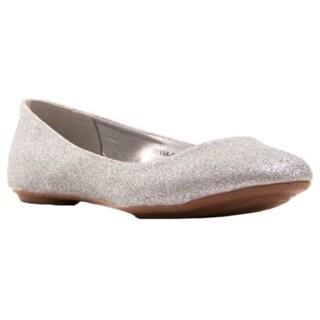 Gomax Women's Sienna 15 Glitter Ballerina Flat