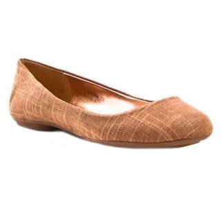 Gomax Sienna 22L Women's Linen Comfy Ballet Flat