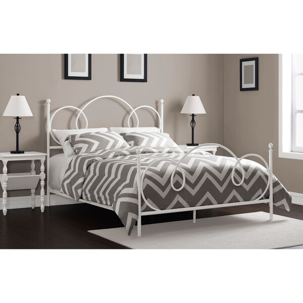 Charmers Cloud 9 White Queen Bed