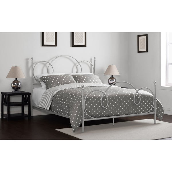 Charmers Cloud 9 Silver Queen Bed