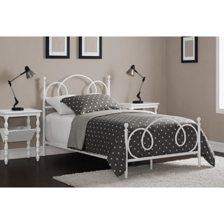 Charmers Cloud 9 Twin Bed White