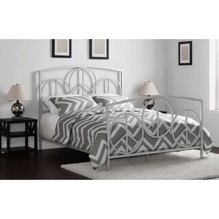 Charmers Peace Silver Queen Bed