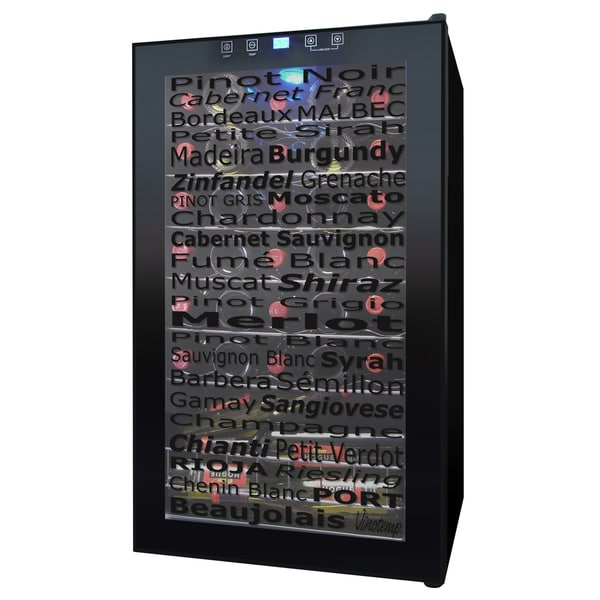 Wine Varietal 34-Bottle Wine Cellar