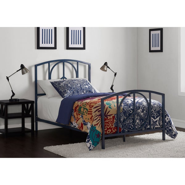 Charmers Peace Navy Twin Bed