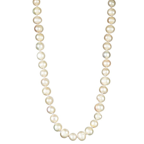 Elastic Freshwater Pearl Necklace