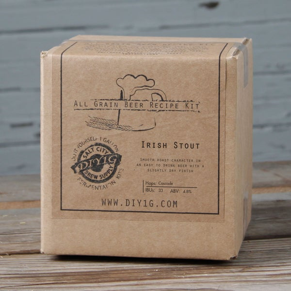 DIY One-gallon Dry Stout Recipe Kit
