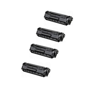 4-Pack Compatible HP CE278A 78A Toner Cartridge For HP P1560 P1566 P1600 P1606 M1536