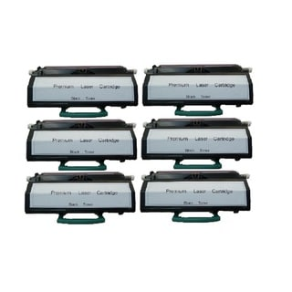 Replacing X203A21G Toner Cartridge for Lexmark X203 X203n X204 X204n Series Printers (Pack of 6)