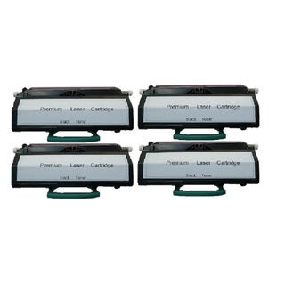 Replacing X203A21G Toner Cartridge for Lexmark X203 X203n X204 X204n Series Printers (Pack of 4)