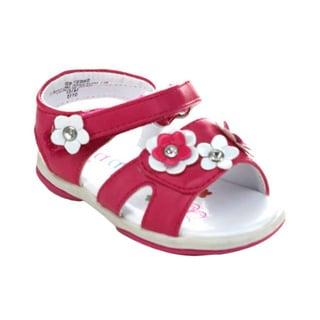 Aadi Sweet-832 Children's Velcro Ankle Strap Flat Sandal