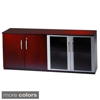 Mayline Napoli Series Low Wall Cabinet With Doors