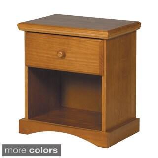 Woodcrest Pine Ridge 1-drawer night stand