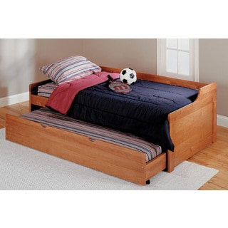 Woodcrest Pine Ridge Twin Trundle Bed