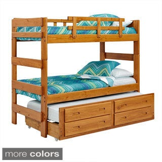 Woodcrest Heartland Collection Extra Tall Stacking Bunk Bed