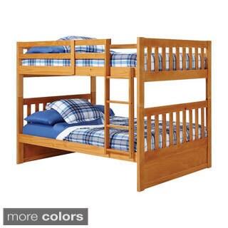 Woodcrest Pine Ridge Full/ Full Mission Bunk Bed