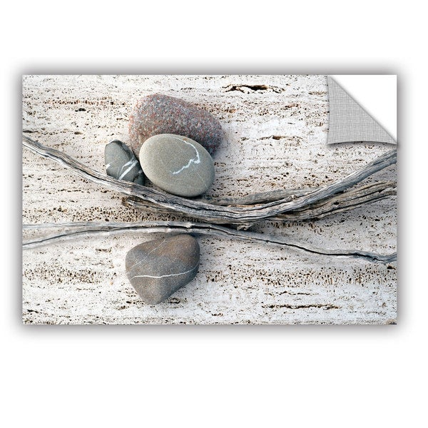 ArtWall Elena Ray ' Still Life Sticks Stones ' Art Appeals Removable Wall Art