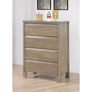Alsa Gray 4-drawer Chest