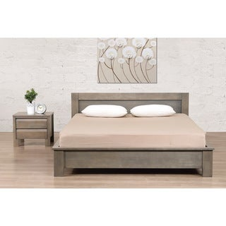 Alsa Gray Queen Bed