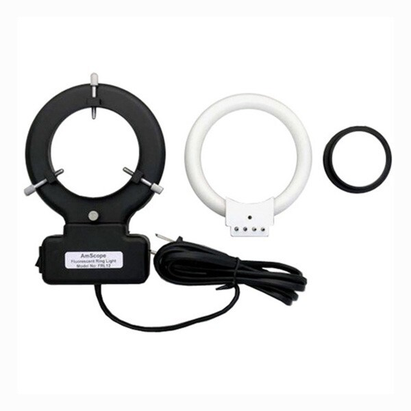 12W Microscope Fluorescent Ring Light with Adapter