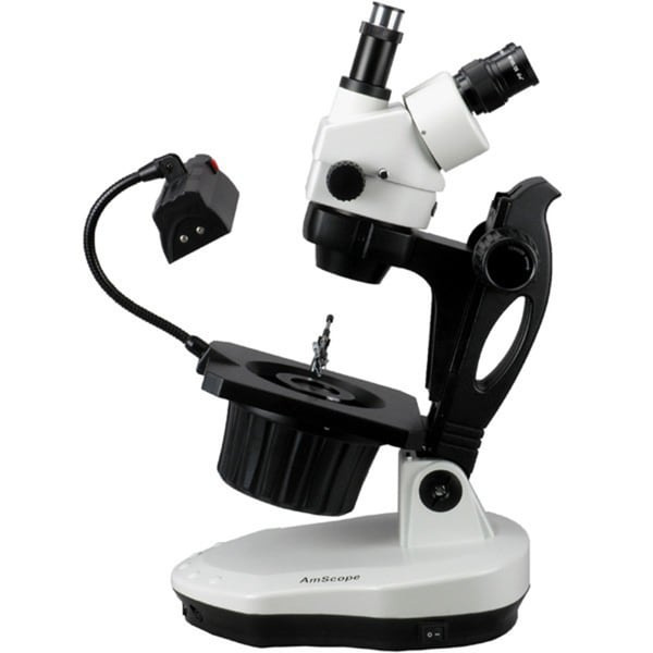7X-45X Advanced Jewel Gem Stereo Zoom Microscope 15548261