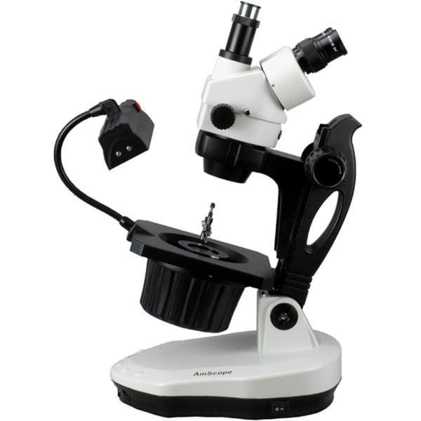 3.5X-90X Advanced Jewel Gem Stereo Zoom Microscope 15548265