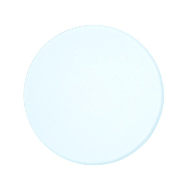 3.75-inch (95mm) Frosted Round Glass Plate for Stereo Microscopes 15548303