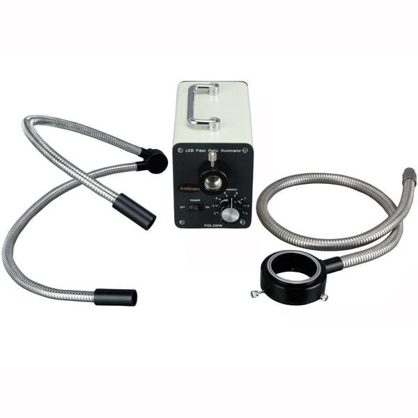 30W LED Fiber Optic O-Y Light Microscope Illuminator