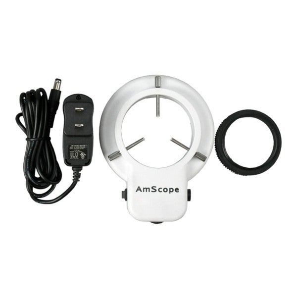 48 LED Microscope Ring Light with Adapter