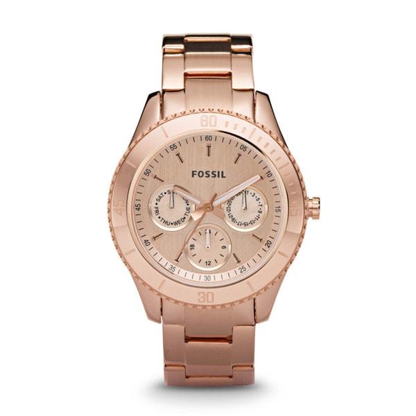 Fossil Ladies Rose Gold Stella Watch