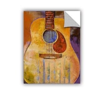 ArtWall Michael Creese ' Acoustic Guitar ' Art Appealz Removable Wall Art