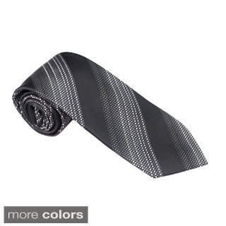 Elie Balleh Milano Italy EBNT3997 Microfiber Striped Neck Tie