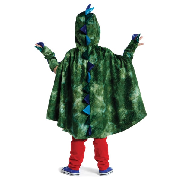 Creative Education Dragon Cape with Claws in Green (Medium)