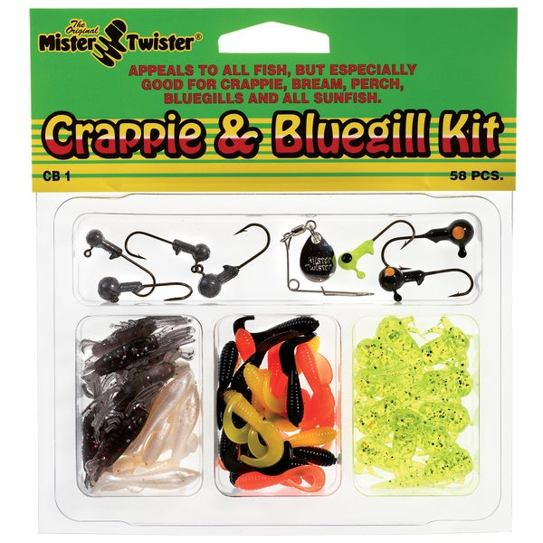 Mister Twister Crappie and Bluegill Kit 57 Pieces