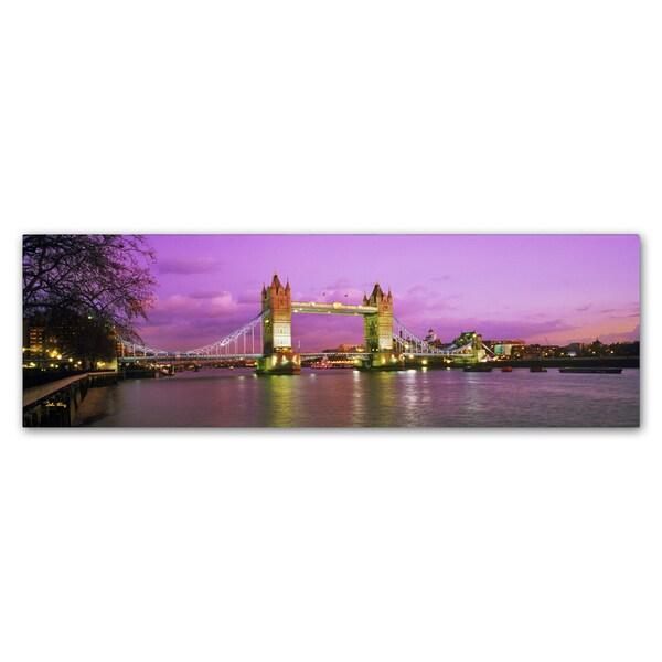 John Xiong 'London Bridge' Canvas Art