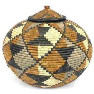 Zulu Wedding Basket - One of a Kind (South Africa)